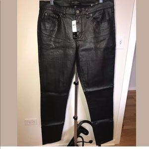 NWT Banana Republic Black Skinny Fit Pant 8